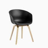 HAY AAC22 Soapwashed Black with Cushion
