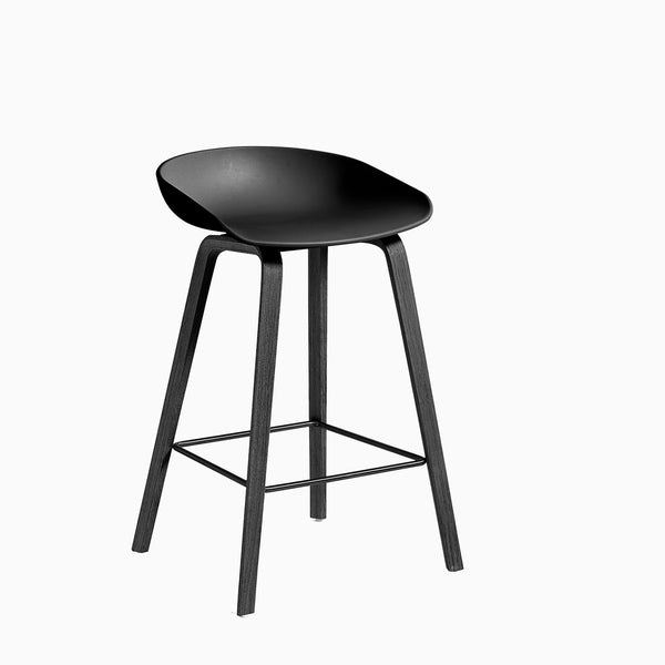 HAY About A Stool AAS32 Black Black