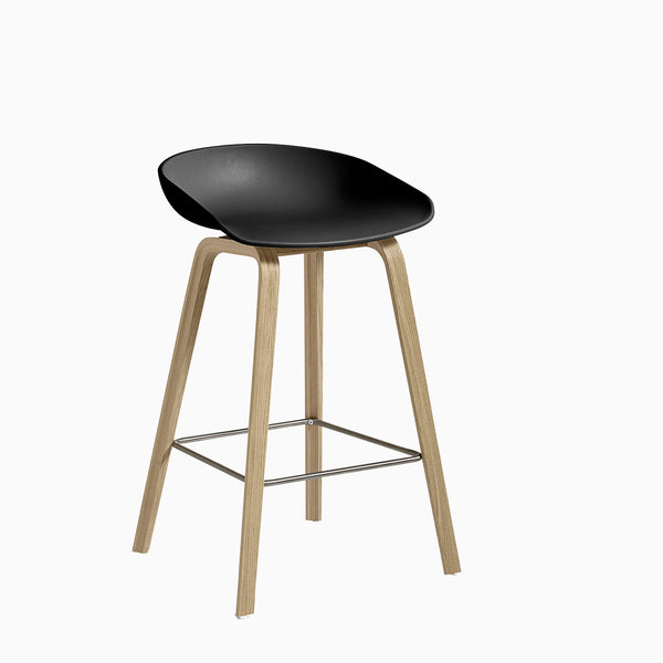 HAY About A Stool AAS32 Black Oak