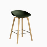 HAY About A Stool AAS32 Forest Green Black
