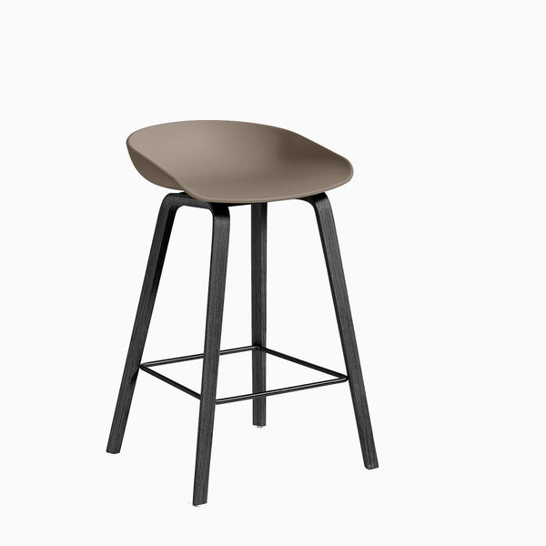 HAY About A Stool AAS32 Khaki Black