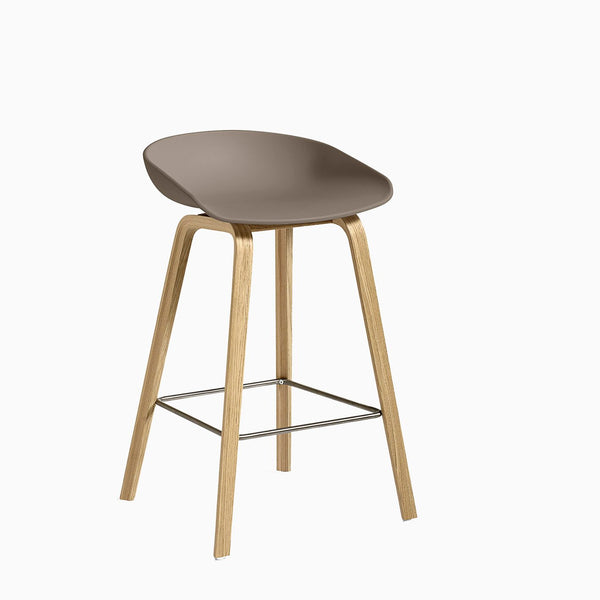 HAY About A Stool AAS32 Khaki Oak
