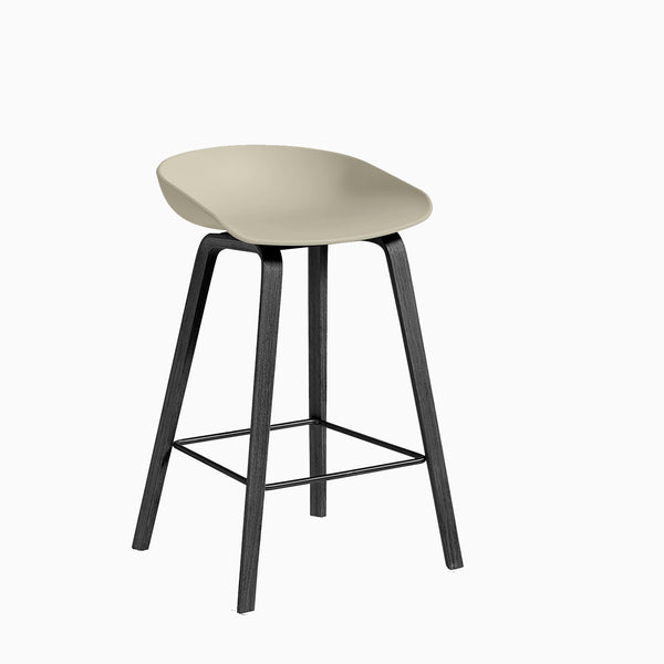 HAY About A Stool AAS32 Pastel Green Black