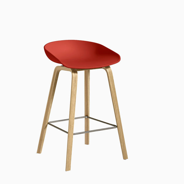 HAY About A Stool AAS32 Warm Red Oak