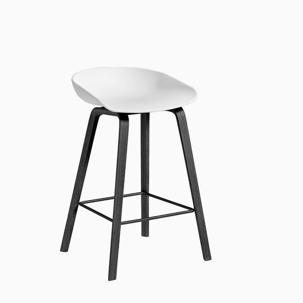 HAY About A Stool AAS32 White Black