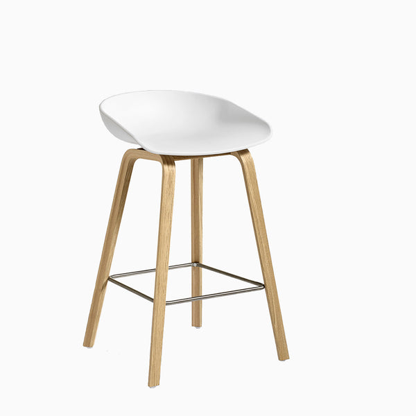 HAY About A Stool AAS32 White Oak