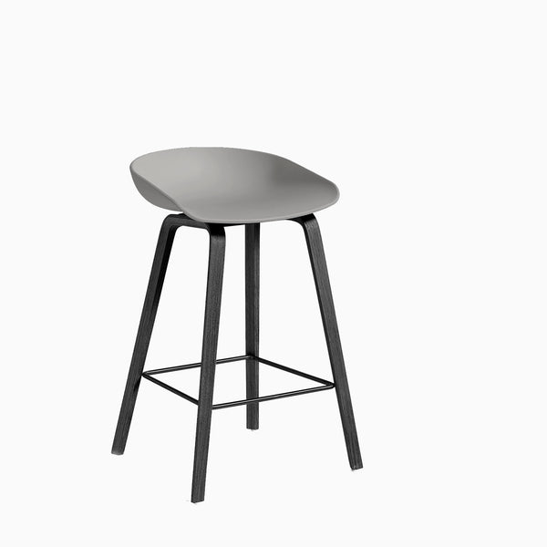 HAY About A Stool AAS32 Black Charcoal