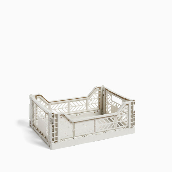 HAY Colour Crate Medium Light Grey