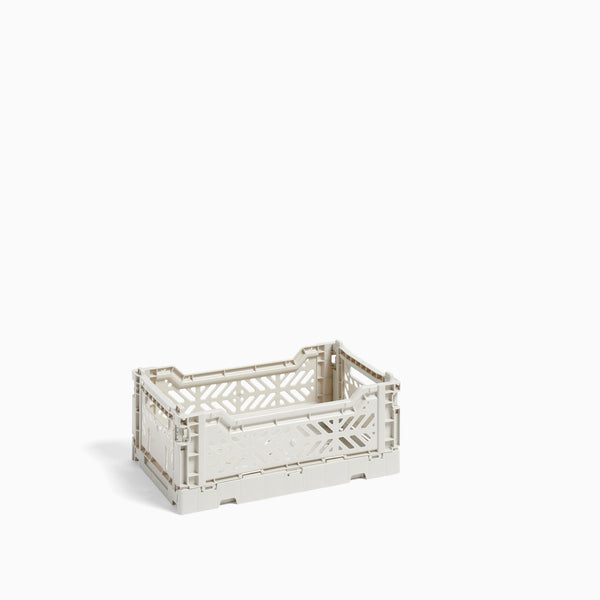 HAY Colour Crate Small Light Grey