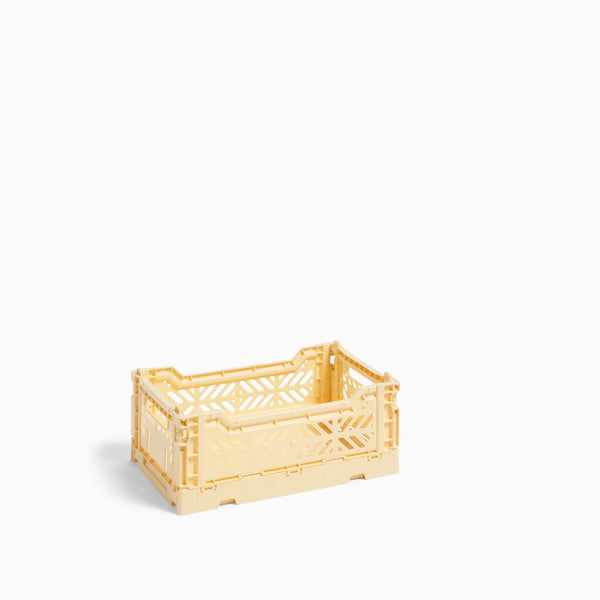 HAY Colour Crate Small Light Yellow