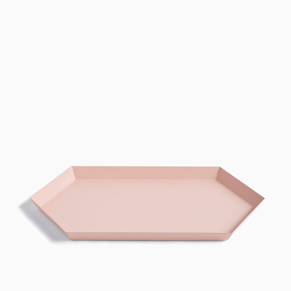 HAY Kaleido Tray Medium Peach