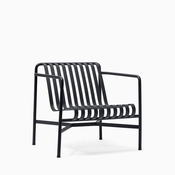 HAY Palissade Lounge Chair Low Anthracite