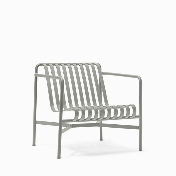 HAY Palissade Lounge Chair Low Sky Grey