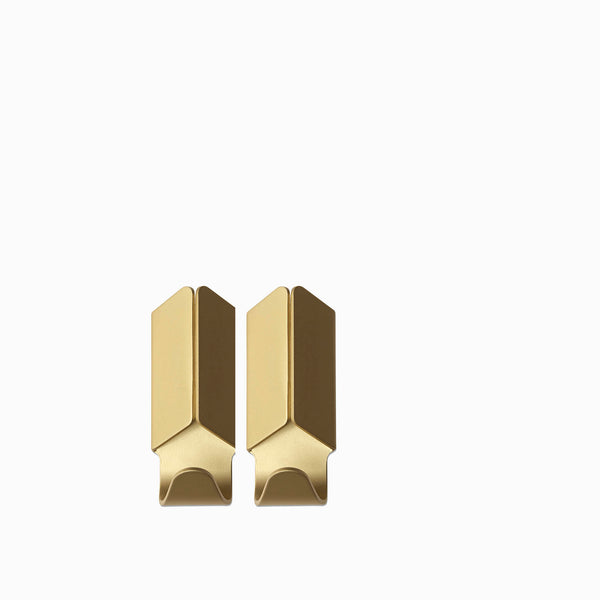 HAY Volet Hook (Set of 2) - Gold