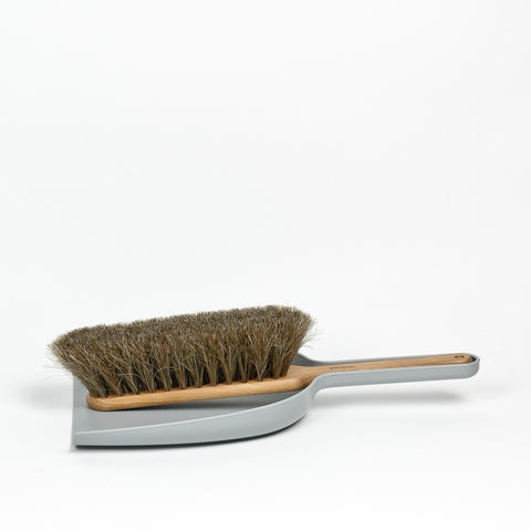 Iris Hantverk Dustpan & Brush Set (Grey)