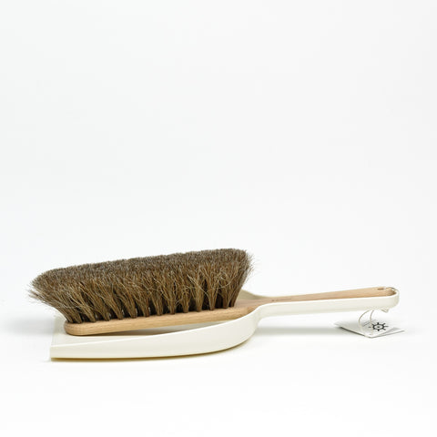 Iris Hantverk Dustpan & Brush Set (white)