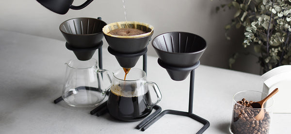 Kinto 2 Cup Brewer Stand Set