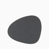 LIND DNA Table Mat Curve Large Nupo Anthracite
