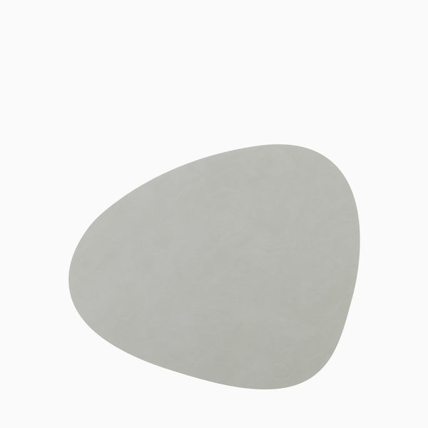 LIND DNA Table Mat Curve Large Nupo Light Grey