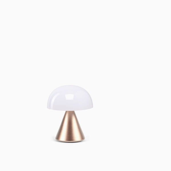 Lexon Mina Mini Led Lamp - Light Gold