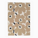 Marimekko Pieni Unikko Kitchen Towel 2pc - Beige/Dark Blue