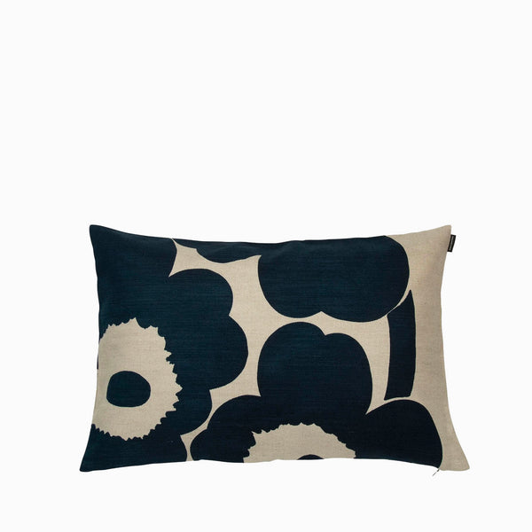 Marimekko Unikko Cushion Cover - Navy