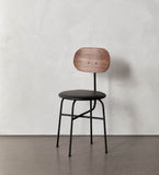 Menu Afteroom Dining Chair Plus (Walnut Back/ Leather Seat)