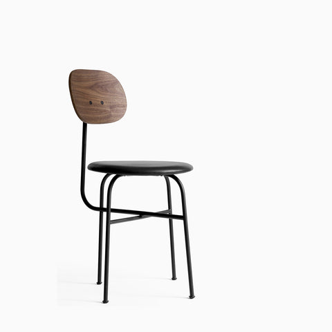 Menu Afteroom Chair Plus Walnut Black Leather