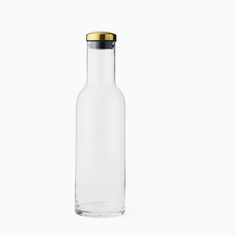 Menu Bottle Carafe Brass Lid
