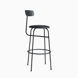 Menu Afteroom Bar Chair Black Leather