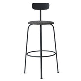 Menu Afteroom Bar Chair Black Melange Front View