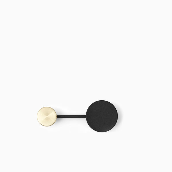 Menu Afteroom Coat Hanger Small Black Brass