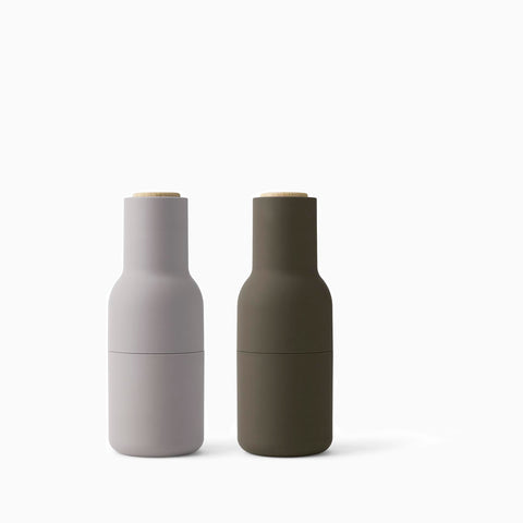 Menu Bottle Grinder Hunting Green Beige