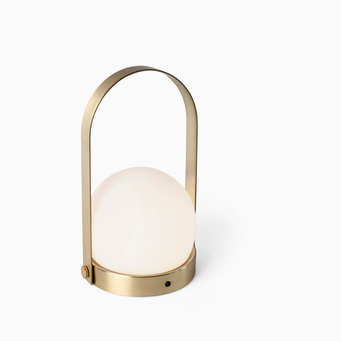 Menu Carrie Lamp Brushed Brass