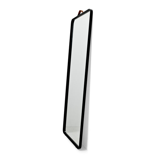 Menu Norm Floor Mirror Black Side View