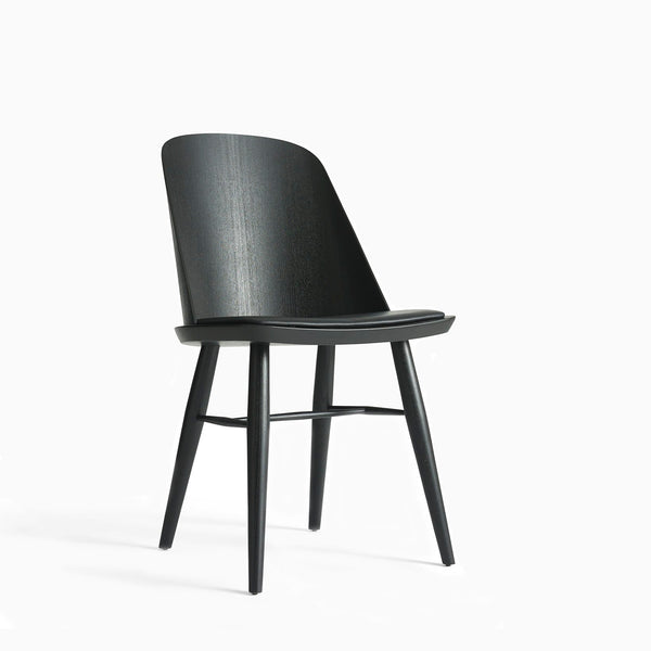 Menu Synnes Chair Black Leather