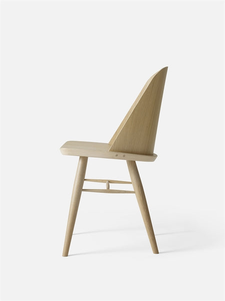 Menu Synnes Chair Oak Unupholstered Side View
