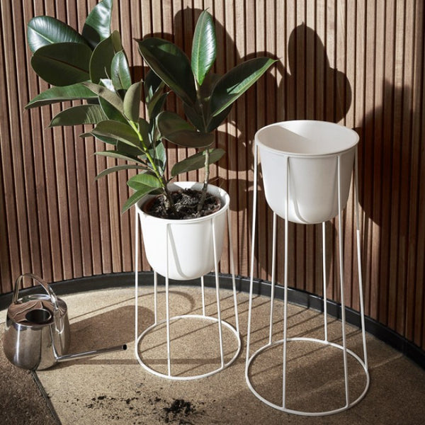 Menu Wire Pot Base White (S, M or L)