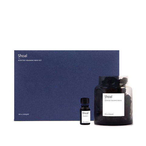Milligram Scented Volcanic Rock Set - Shoal