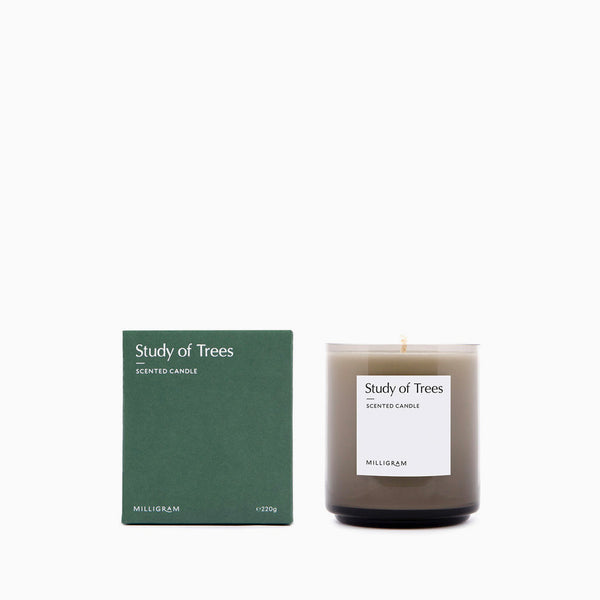 Milligram Scented Candle Study of Trees 220g