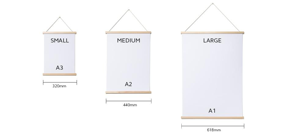 Moxon Magnetic Poster Frame | Arrival Hall
