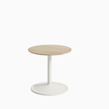 Muuto Soft Side Table H40cm Solid Oak Off White
