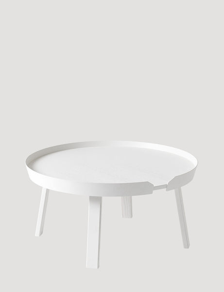Muuto Around Coffee Table Large White