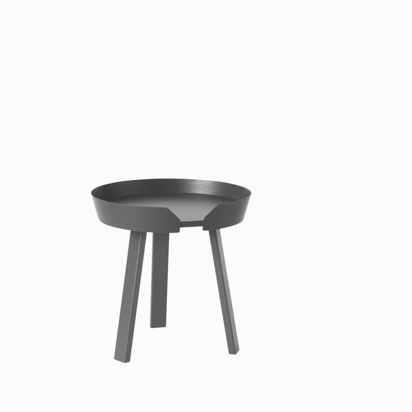 Muuto Around Table Small Anthracite