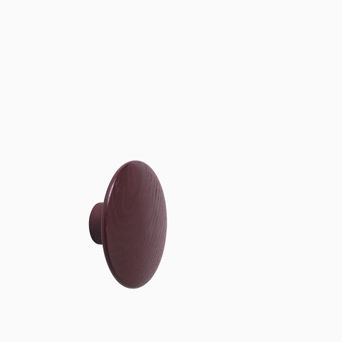 Muuto The Dots Medium Burgundy