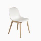 Muuto Fiber Side Chair Wood Base White Oak
