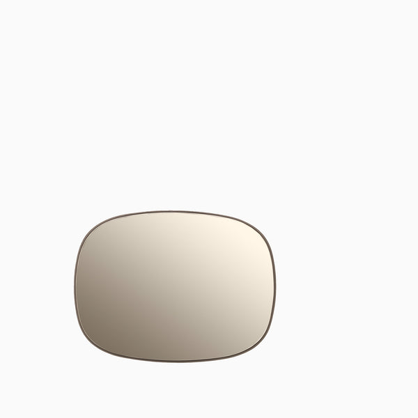 Muuto Framed Mirror Small Taupe