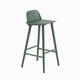 Muuto Nerd Bar Stool Green