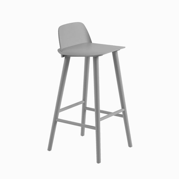 Muuto Nerd Bar Stool Grey