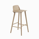 Muuto Nerd Bar Stool Oak